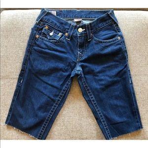 True Religion Men's Ricky Cutoff Shorts